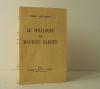 LE SOLILOQUE DE MAURICE BARRES. Orné d'une eau-forte d'après un portrait de Maurice Barrès et de lettrines gravées sur bois par Guy DOLLIAN. .  ...