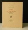LETTRE SUR LES MALADES avec sept lithographies originales de R. Mac-Carthy..      DUHAMEL (Georges)