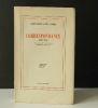 CORRESPONDANCE (1904-1938). Préface et notes par Robert Mallet. . CLAUDEL (Paul) et SUARES (André)