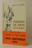 POEMES DE MON VIVANT..  LE GOUIC (Gérard).