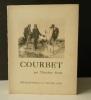 COURBET..  [COURBET]  DURET (Théodore)