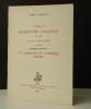 LA LIBRAIRIE BERNARD GRASSET et les lettres françaises. Première partie Les chemins de l'édition ( 1907-1914). [EDITION]  BOILLAT (Gabriel)