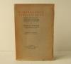 BIBLIOGRAPHIE VERLAINIENNE. Contribution critique à l'étude des littératures étrangères et comparées. [VERLAINE]  TOURNOUX (Georges A.)
