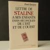 LETTRE DE STALINE A SES ENFANTS ENFIN RECONCILIES DE L'EST A L'OUEST.. [SITUATIONNISME]  VANEIGEM (Raoul)