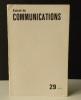 POUR UNE REFORMULATION DU CONCEPT DE SIGNE ICONIQUE. Les modes de production sémiotique.. ECO (Umberto). Revue Communications n° 29. 1978
