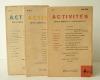 ACTIVITES.. [REVUE]  ACTIVITES ( Drieu la Rochelle, Philippe Soupault, Gertrude Stein, G. Ribemont-Dessaigne, Jean Hélion, Maïakovsky, Goriély).