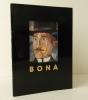 BONA ou la rédemption par l'art. Catalogue de l'exposition à la galerie Arenthon du 29 mai au 16 juin 1990.. [BONA de MANDIARGUES]