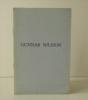 GUNNAR NILSSON. Catalogue de l'exposition à la galerie Simone Badinier en mars 1960 à Paris.  . MARTIN DU GARD (Roger)