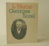GEORGES SOREL.. [SOREL (Georges)]  CAHIERS DE L'HERNE