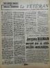 LE VETERAN.. FOMBEURE (Maurice). Revue REGARDS n°223, 21 avril 1938.