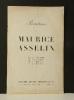 "TEMOIGNAGE in "" Peintures de MAURICE ASSELIN ""..  MAC ORLAN (Pierre)."