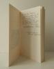 LA LUTTE AVEC L'ANGE. Un chant de sombre joie dans l'agonie du temps (Poèmes 1939-1949). VIGEE (Claude)