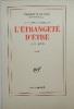 L'ETRANGETE D'ÊTRE. 1977-1979. Les vaches sacrées, II. MAULNIER (Thierry)