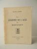 LA LEGENDE DE L'AILE OU MARIE-ELISABETH.. JAMMES (Francis)