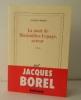 LA MORT DE MAXIMILIEN LEPAGE, ACTEUR.. BOREL (Jacques)