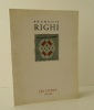 FRANCOIS RIGHI. Les livres 1975-1995.. LEFEBVRE (Eric)