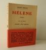 HELENE. Avec une préface de Jérôme et Jean Tharaud.. DEMANGE (Charles)