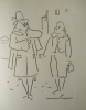 LES FOURBERIES DE SCAPIN. Avec 28 dessins de Théodore Strawinsky.. [G.L.M.]  MOLIERE