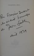 DE FRANCE OU BIEN D'AILLEURS.. [CHANSON]  SABLON (Jean).