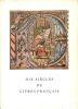 Dix siècles de livres français.. MUSÉE DES BEAUX-ARTS DE LUCERNE.