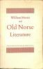 William Morris & Old Norse Literature. A lecture by J.N. Swannel, 1958 to the Society.. MORRIS, WILLIAM.