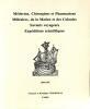 Catalogue no no./(c. 1991): Médicins, Chirurgiens et Pharmaciens Militaires, de la Marine et des Colonies, Savants voyageurs, Expéditions ...