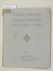 Catalogue 460/1925: English Literature of the 19th and 20th Centuries. First and Early Editions of the Works of Esteemed Authors and Books ...