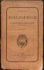 Archives du bibliophile ou bulletin illustré de l'amateur de livres et du libraire.. CLAUDIN, A. (1833-1906).