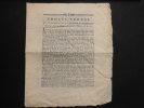 Procès-verbal de la séance de la légion avignonaise assemblée sans armes dans l'église des pénitens noirs à Monteux le 8 mai 1791. Collectif