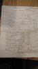Relevé d'un compte courant entre Jean-François de La Borde (financier né à Bayonne en 1691; Seigneur de Mouillon et baron de La Brosse, député au ...