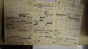 """[fragment d'un manuscrit] 3 pages et demie du dernier chapitre de """"Rêveries d'un pêcheur solitaire""""  . Maurice TOESCA (manuscrit)"""