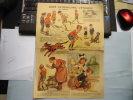Affiche format in 4° pour la crème de gruyère GRAF. Poulbot