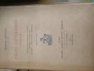 Pages littéraires choisises Contes philosophiques - poèmes - critique littéraire - voyages - philosophie généralesg. Charles MAURRAS