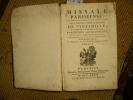 Missale Parisiense. MISSEL DE PARIS