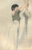 Le Rideau Cramoisi.. [RASSENFOSSE (Armand)] BARBEY D'AUREVILLY (Jules) :
