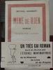 Mine-de-rien, roman illustré par l'auteur. Herbert Michel . .