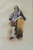 Gravure sur acier coloriée et gommée à l'époque issue du Plutarque Français (1835) Bassompierre. Bassompierre .