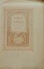Le Temple de Gnide. Avec les figures gravée par Le Mire d'après les dessins de Ch. Eisen. Texte original avec préfaceinédite par Le Bibliophile Jacob ...