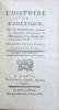 Histoire de l'Amérique par M. Robertson, principal de l'université d'Edimbourg. Seconde édition revue et corrigée. Robertson William .