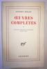 Œuvres complètes T. V : Autour du théâtre et son double et des Cenci. Artaud Antonin