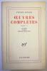 Œuvres complètes T. VI : Le Moine de Lewis raconté par Antonin Artaud. Artaud Antonin
