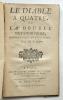 Le diable à quatre ou la double métamorphose. Opéra comique en trois actes par M. S.. Sedaine Jean-Michel