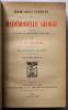 Mémoires inédits de Mademoiselle George publiés d'après le manuscrit original. Cheramy P.-A.