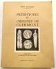 Préhistoire et origines de Clermont..  EYCHART (Paul).