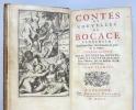 Contes et Nouvelles. Traduction libre, accomodée au goût de ce temps. Seconde édition..  BOCCACE