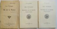 LES VOYAGES DE M. DE LA BASTIE. Extrait des Mémoires de l'Académie de Vaucluse..  FORBIN (Marquis de).