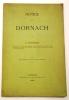 Notice sur Dornach..  MOSSMANN (X.).