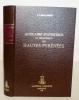 Annuaire statistique du département des Hautes-Pyrénées (…)..  LABOULINIERE (P.).
