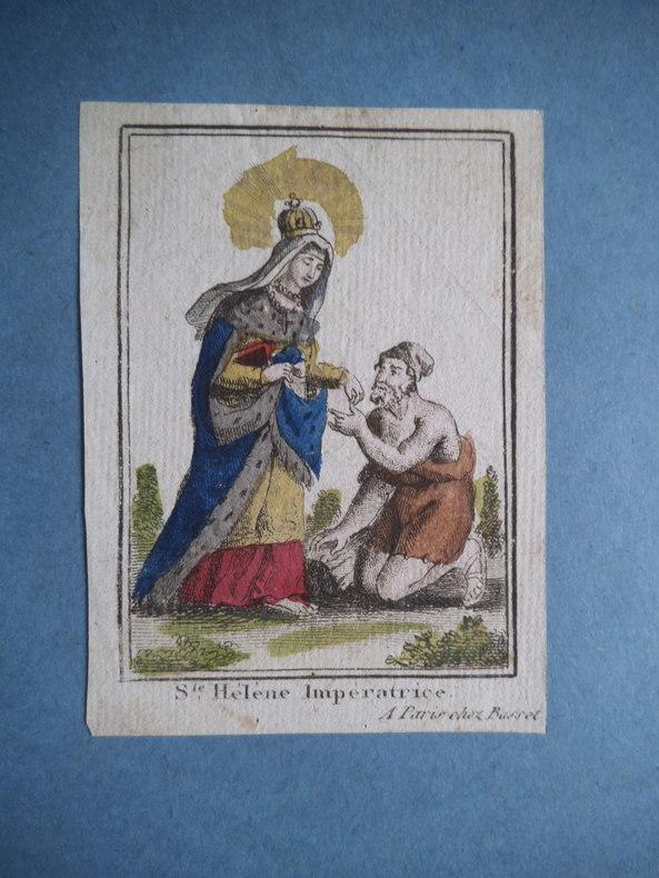 Sainte Hélène Impératrice. . Anonyme