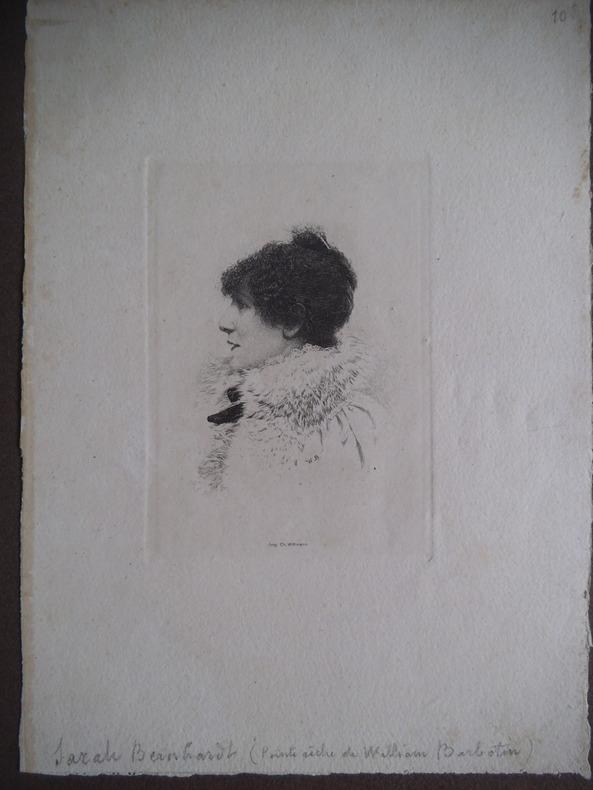 SARAH BERNHARDT . BARBOTIN William